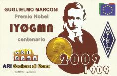 Call celebrativo del centenario del Nobel a Marconi