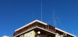 Antenne: windom FD4, Vert.hm 80-40-15, direttiva 2elem., verticale c.p. con SGS 237 per Rx