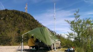 Antenne VHF verso Nord