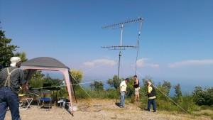 Montaggio antenne 432MHz