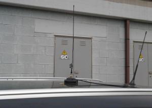 2 - antenna montata