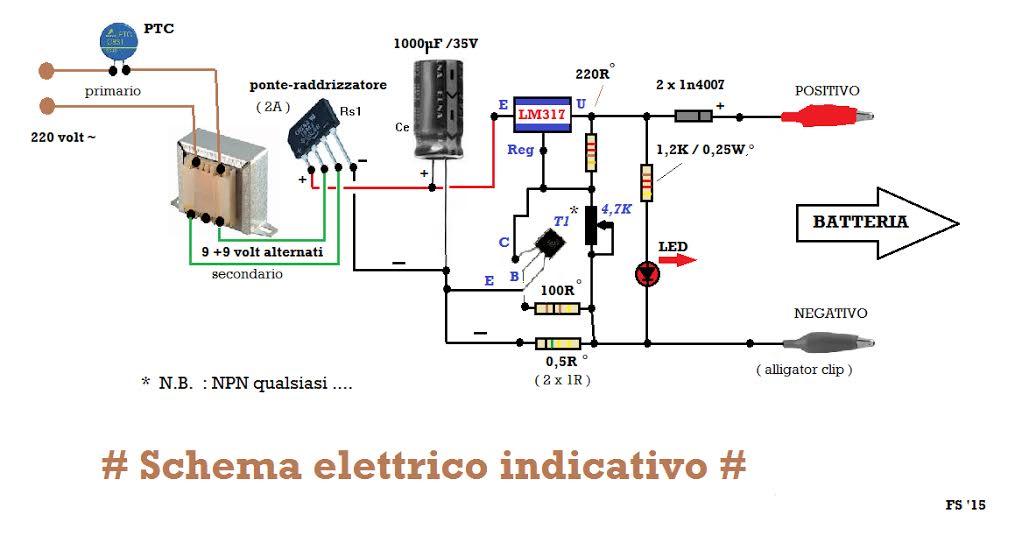 Schema Elettrico Caricabatterie Wireless : Recupero di un caricabatterie ari sezione roma